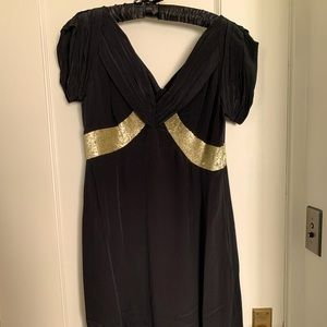 Gorgeous Vintage-Inspired Black & Sequin Dress!